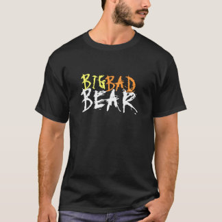 Stor glad björn för dåligabjörntext endast tröjor