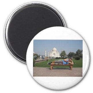 Stor grabb i Indien Magnet