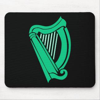 Stor grön Celtic harpa Musmatta