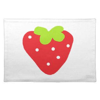 Stor jordgubbe bordstablett