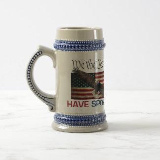 Stor kaffemugg för trumf MAGA - oss folket