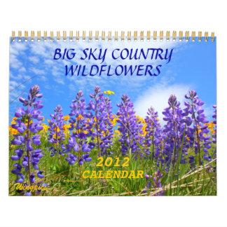 Stor kalender för himmellandvildblommar 2012