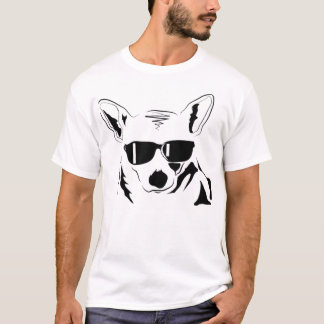 (Stor) kall Corgi, T Shirt