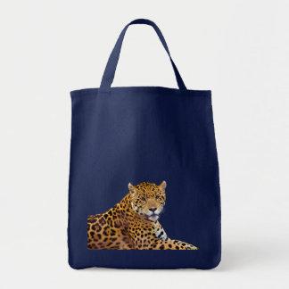 Stor Katt-älskare för prickig jaguar #Gift Tygkasse