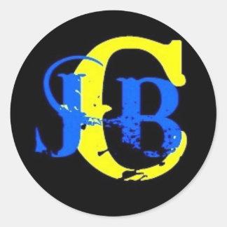 Stor klistermärke för JBC-logotyp