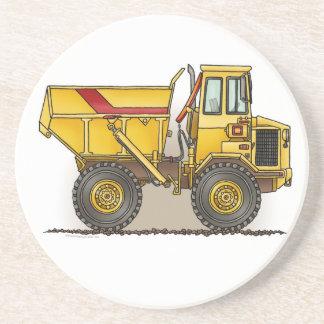 Stor lastbil underlägg sandsten