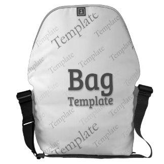 Stor mall för anpassningsbar för utvändigt tryck kurir väska
