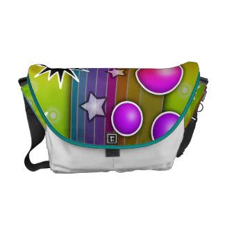Stor MESSENGER BAG för smällsvarthål