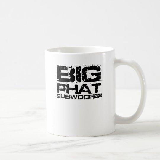 Stor Phat Subwoofer Dubstep Kaffemugg
