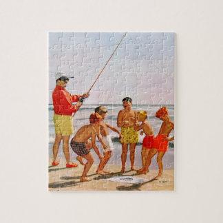 Stor Pole lite fisk av Richard Sargent Pussel