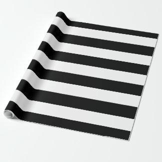Stor randig | anpassade för svart & för vit presentpapper
