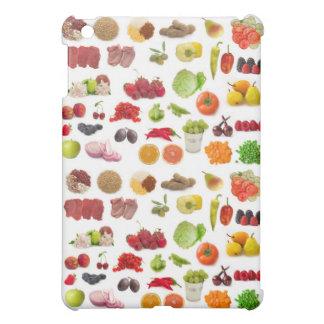 stor samling av frukter och grönsaker iPad mini skal