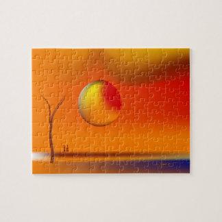 Stor sol för Zinglees ~ Pussel