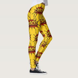 Stor spricka leggings
