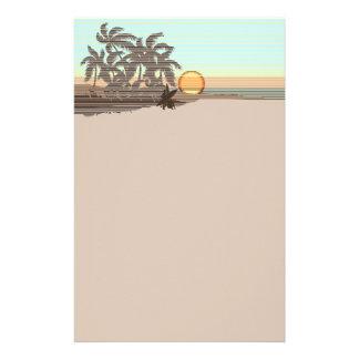 Stor stationär solnedgånghawaiibo