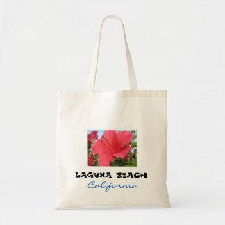 Stor toto för Laguna strand - hibiskus Tygkasse