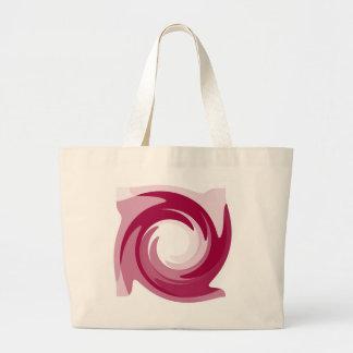 Stor toto för rosa Twirl Tygkasse