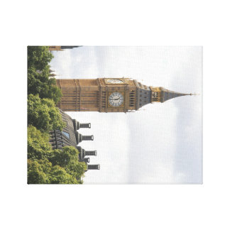 Stora Ben, London England, fotografi på kanfas Canvastryck