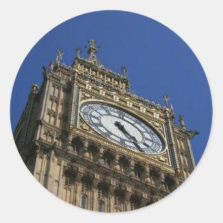 Stora Ben - London klistermärkear Runt Klistermärke