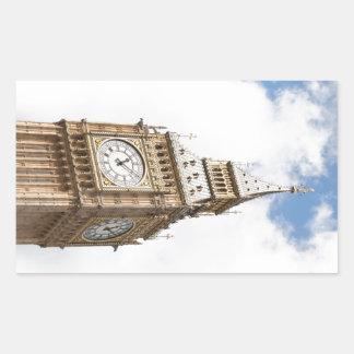 Stora Ben London Rektangulärt Klistermärke