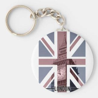 Stora Ben, London Rund Nyckelring