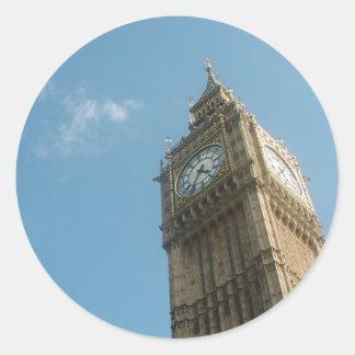 Stora Ben - London Runt Klistermärke