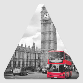 Stora Ben London Triangelformat Klistermärke