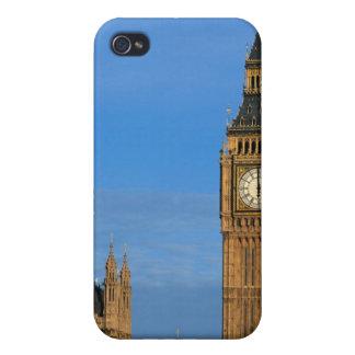 Stora Ben och parlamentbyggnad iPhone 4 Cover
