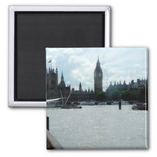 Stora Ben på floden Thames London