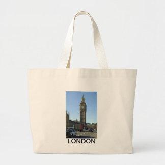 Stora Ben tar tid på torn London Jumbo Tygkasse