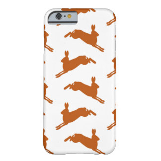Stora hoppa Hares lismar brunt Barely There iPhone 6 Fodral