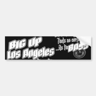 STORA ÖVRE Los Angeles Bildekal