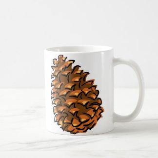 Stora Pinecone Kaffemugg