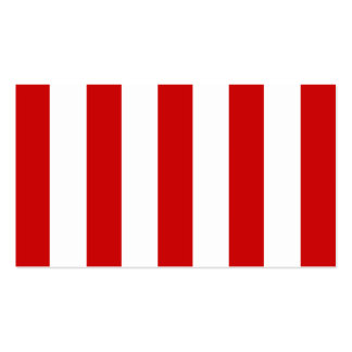 Stora röda randar på anpassadebakgrund visitkort mallar