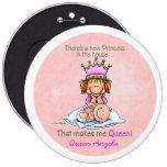 Storasyster - drottning av princessen knappar
