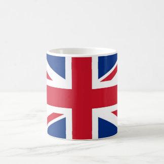Storbritannien flagga kaffemugg