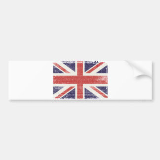 Storbritannien flaggavintage bildekal