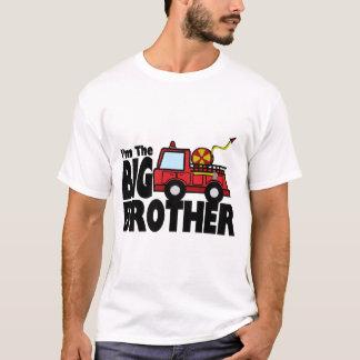 Storebrodern avfyrar lastbilen tee shirts