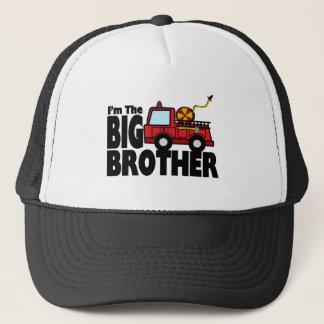 Storebrodern avfyrar lastbilen truckerkeps