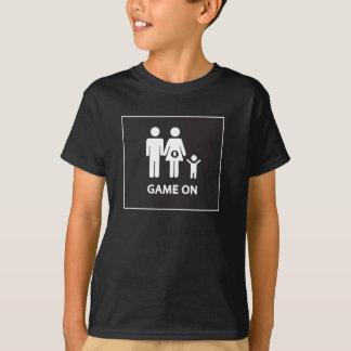Storebror- eller systerskjorta för att spela tee shirt