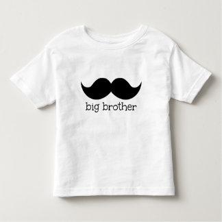 Storebrorskjorta, med moustachen tee shirts