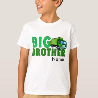 Storebrorsoporlastbil med personlignamn tee shirts