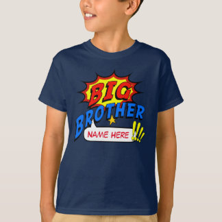 StorebrorSuperheroanpassningsbar T Shirts