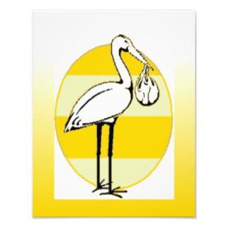 Stork- och babypacke konstfoto