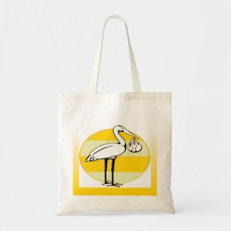 Stork- och babypacke tygkasse