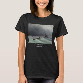 Storm på waterscape för havsIvan Aivasovsky T-shirt