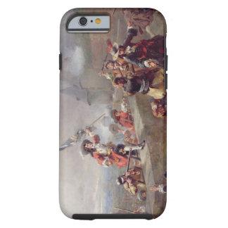 Storma bröstvärnet (olja på kanfas) tough iPhone 6 fodral