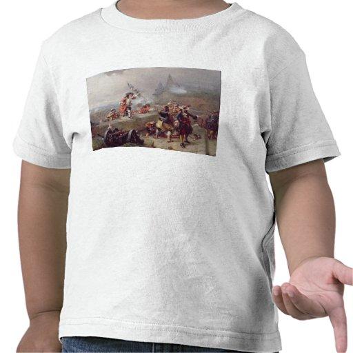 Storma bröstvärnet (olja på kanfas) tröjor