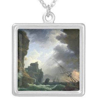 Stormen, 1777 silverpläterat halsband