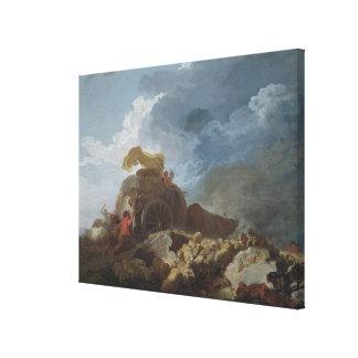 Stormen, c.1759 canvastryck